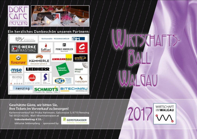 Walgauer Wirtschaftsball 2017