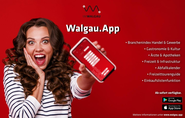 Jo, is denn heut' scho Weihnachten? Die neue Walgau.App ist da!