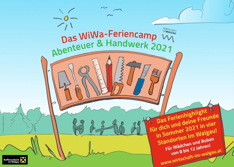 """WiWa-Feriencamp """"Abenteuer & Handwerk"""" 2021"""