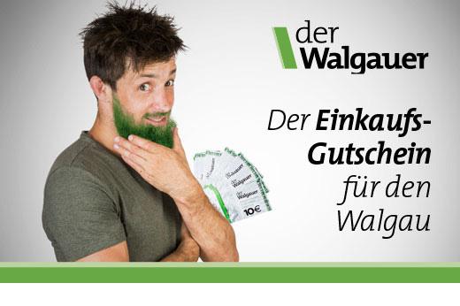 der Walgauer Einkaufsgutschein für den Walgau